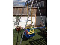 Children's Garden Swing