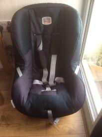 BRITAX ECLIPSE. CHILD CAR SEAT GOOD CLEAN CONDITION .9 to 18 KG