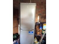 Silver bush fridge freezer