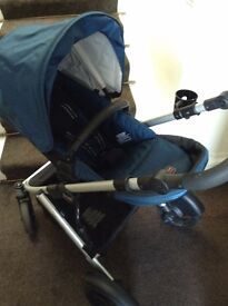 Britax B-Ready Pram and Double Push Chair - Just released in UK for over £700