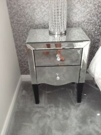 Mirror glass Bedroom furniture