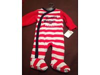 Brand new mothercare wadded sleepsuit