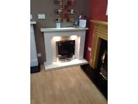 Crieff 48 Complete Micromarble Fireplace