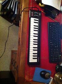 KORG microkey 37 keyboard