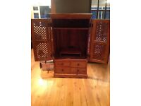 Thakat wooden TVs cabinet or storage unit