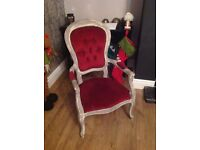 Shabby chic project chair