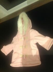 Baby girl coat newborn up to one month