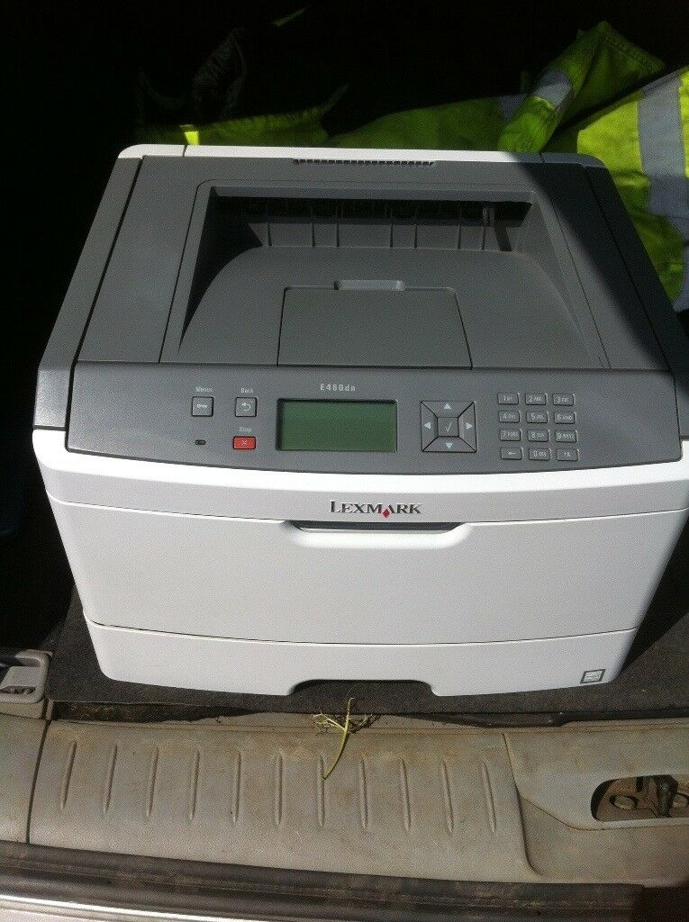 Lexmark E460dn Network Laser Printer