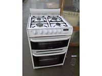 white Gas cooker 60cm....Cheap free delivery