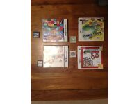 2 x 3DS games and 2 x DS