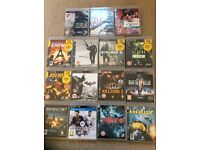 Various PS3 games for sale, all working and in original boxes. Great gift for someone