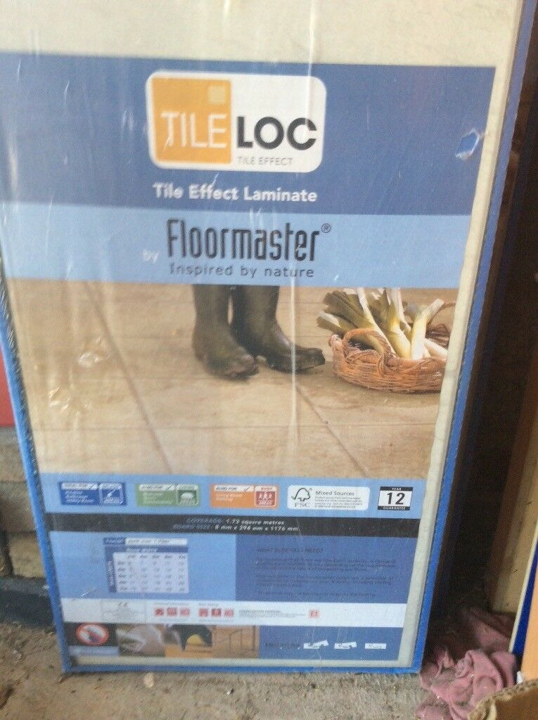 Floormaster Tile Loc Laminate Flooring