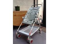 Mothecare 4 wheeled foldable buggy