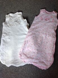0-6 months baby grows 2.5 tog