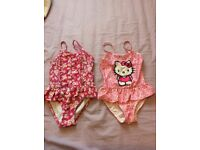Pretty girl swimwear