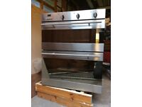 Baumatic Fan oven and Grill/ Oven in Stainless Steel