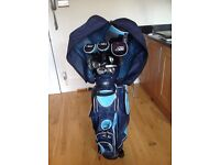 Set of 12 Skymax Ladies Golf Clubs With Bag and Golf Balls