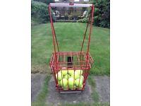 Hoag tennis ball basket/collector