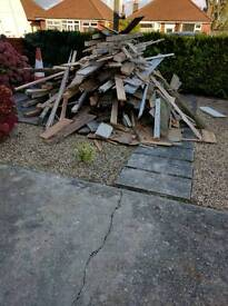 Free wood, free to collect