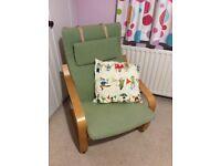 Comfy IKEA armchair