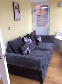 Large sofa seats 3 people