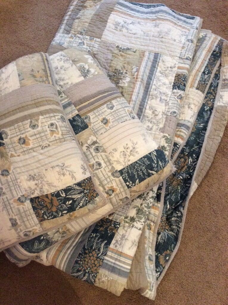 John Lewis patch work quilt