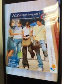 AS and A2 English language text books LIKE NEW