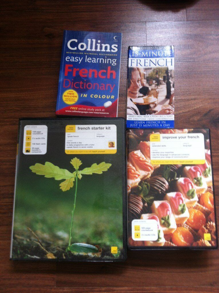 All you want to learn French - French learning complete kit for very cheap - Can make Xmas presents