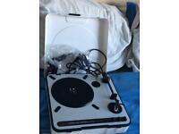 BBQ, Small Disco stand, ION record player,