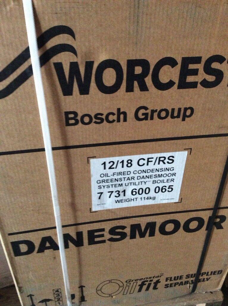 New Oil Boiler 12/ 18 CF / RS ( Erp ) Worcester Bosch system boiler ...