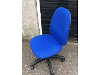 Computer chair ./swivel with height adjuster