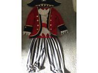 Pirate fancy dress 5-7 years