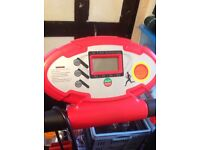 Red treadmill never been used