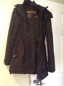 Ladies Superdry coat XS