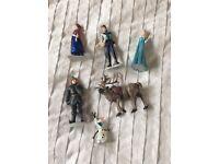 Frozen mini characters