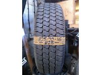 225-70-16 Maxxis Bravo 751 101S 7.5mm Part Worn Tyre