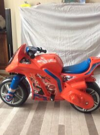 Electric SpiderMan bike age group 4 to 6