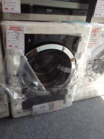 Beko black 10kg 1400spin washing machine. £350 RRP £429. New/graded 12 month Gtee