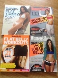 NEW Ladies fitness health book bundle