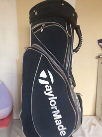 TAYLOR MADE GOLF BAG {suitable for cart or carry)