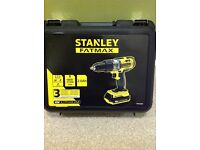 Brand new 18v cordles hammer drill 2 batteries 2Ah and charger. Still unopened.