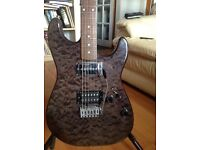 "Custom build guitar WWR ""Custom Custom"" Guitar- Ash body w/nice maple top Reluctant Sale!"