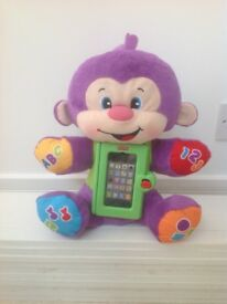 Fisher Price Laugh and Learn Apptivity Monkey