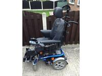 INVACARE XTR ELECTRIC WHEELCHAIR WITH TILT IN SPACE AND SUSPENSION STUNNING CHAIR