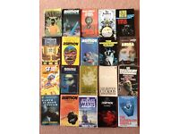 20 Classic Science Fiction paperback novels.
