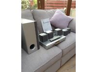 Sony home cinema surround sound 5 speakers and sub woofer