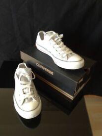 Grey Converse size 6