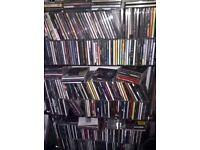 450 CDs & 250+ DVDs