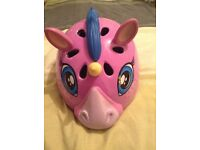 Girls Raskullz unicorn helmet