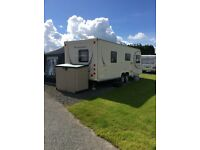 Bailey pageant limosin touring caravan 2010 twin axle fixed bed with many extras